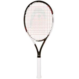 Tennisschläger Speed 26´´ besaitet Kinder schwarz/weiß