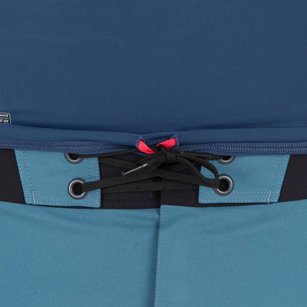 Bild 4 von UV-Shirt Surfen Top 500 kurzarm Herren blaugrau