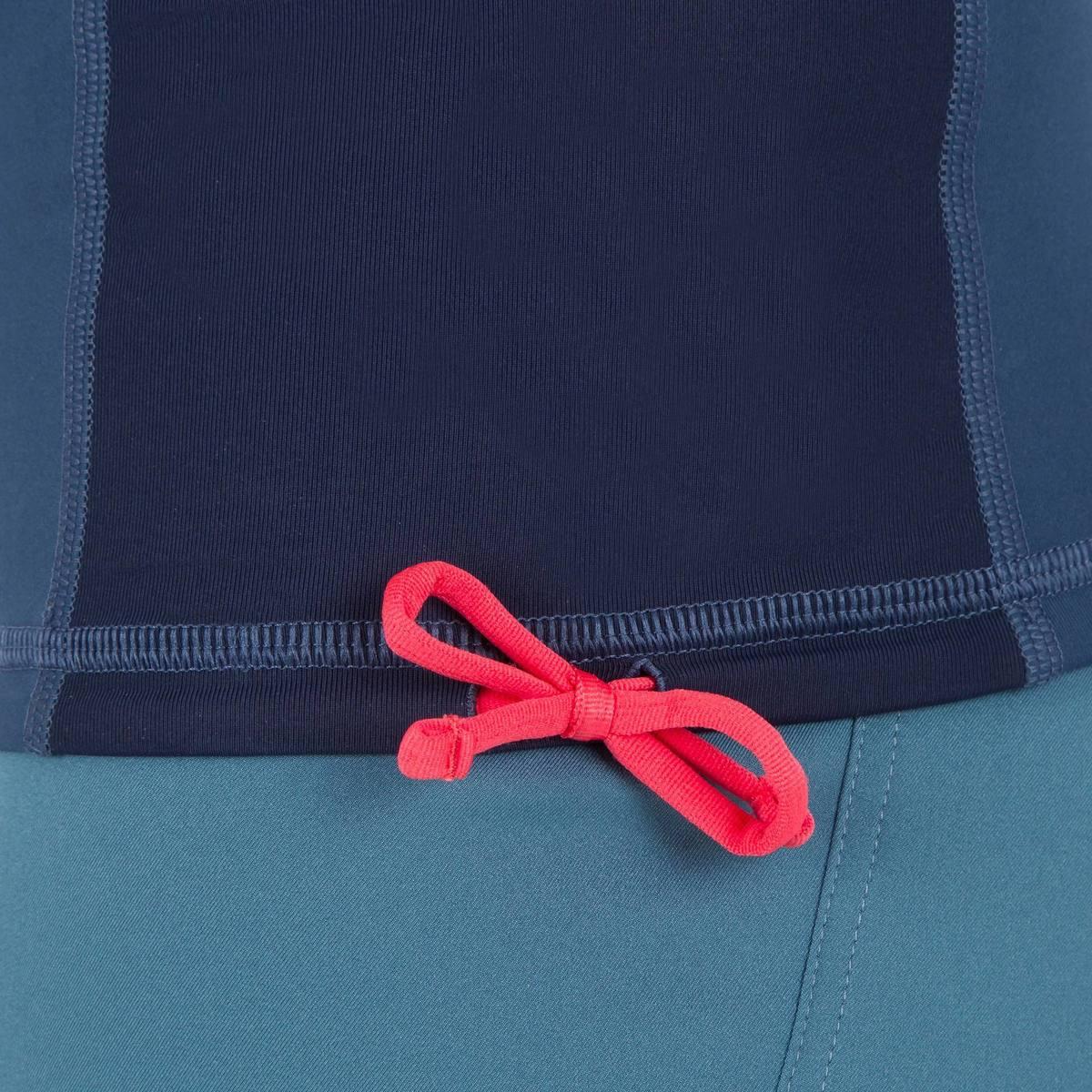 Bild 5 von UV-Shirt Surfen Top 500 kurzarm Herren blaugrau