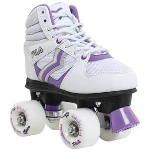 Rollschuhe Verve Damen weiß/violett