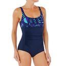 Bild 2 von Badeanzug Aquagym figurformend Mary Fici Damen blau