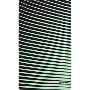Strandhandtuch Basic L Print Geo 145×85cm grün