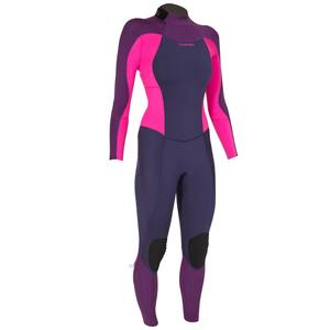 Neoprenanzug Surfen 900 3/2 mm Damen pink