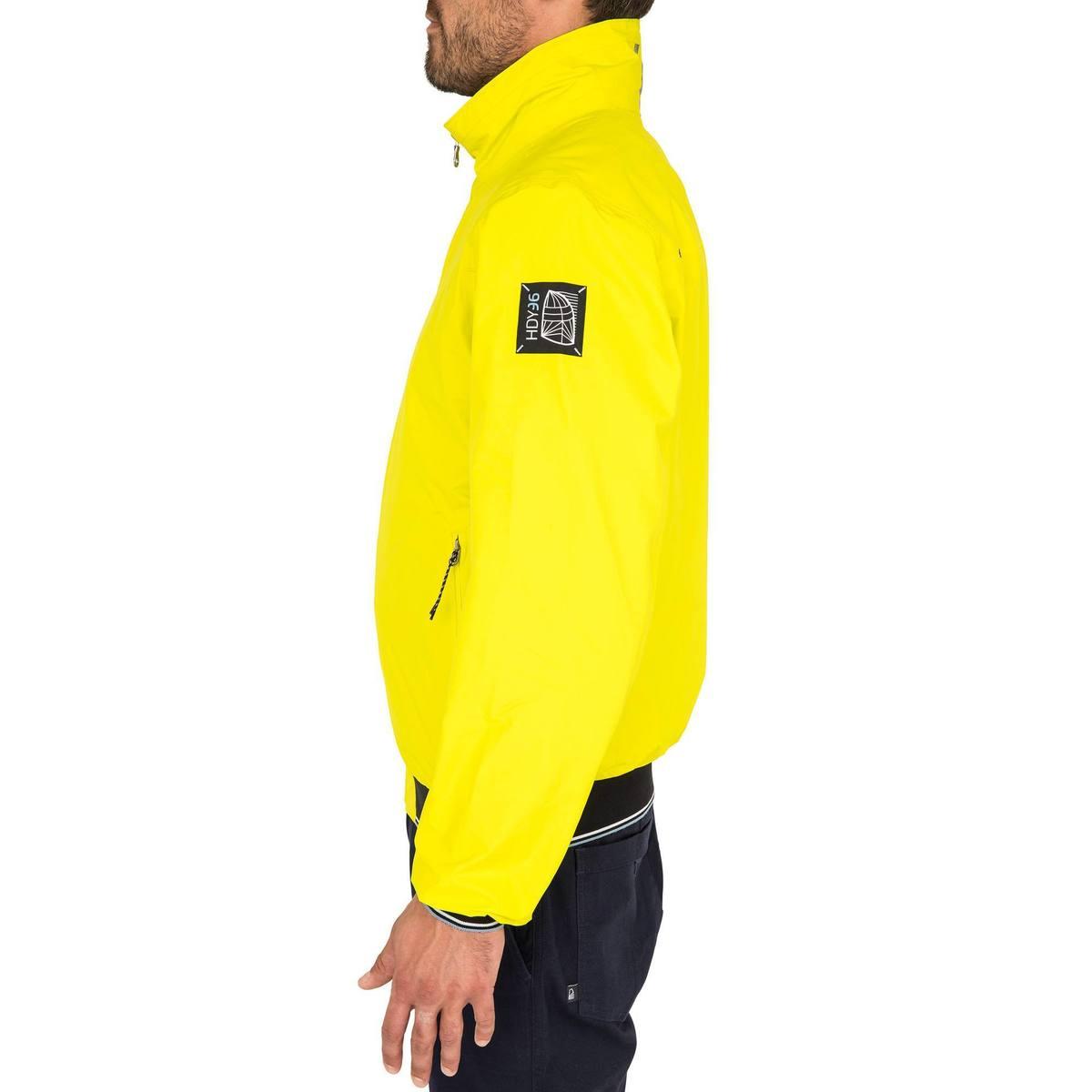 Bild 3 von Segeljacke Blouson Race 100 Herren gelb