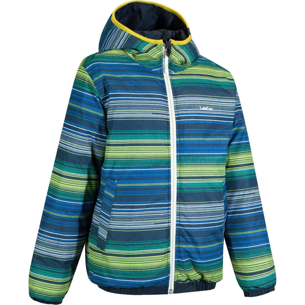 Bild 1 von Skijacke Warm Reverse Kinder blau