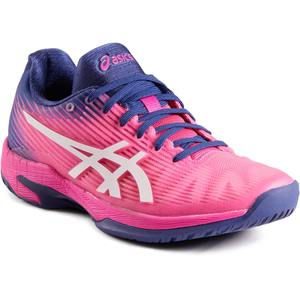 Tennisschuhe Gel Solution Speed Damen Flash rosa