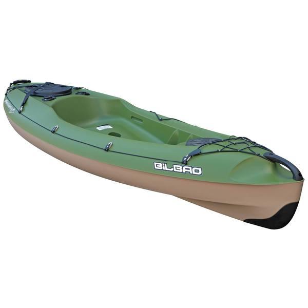 Kajak Hartschale Angeln Bilbao Fishing 1-Sitzer grün