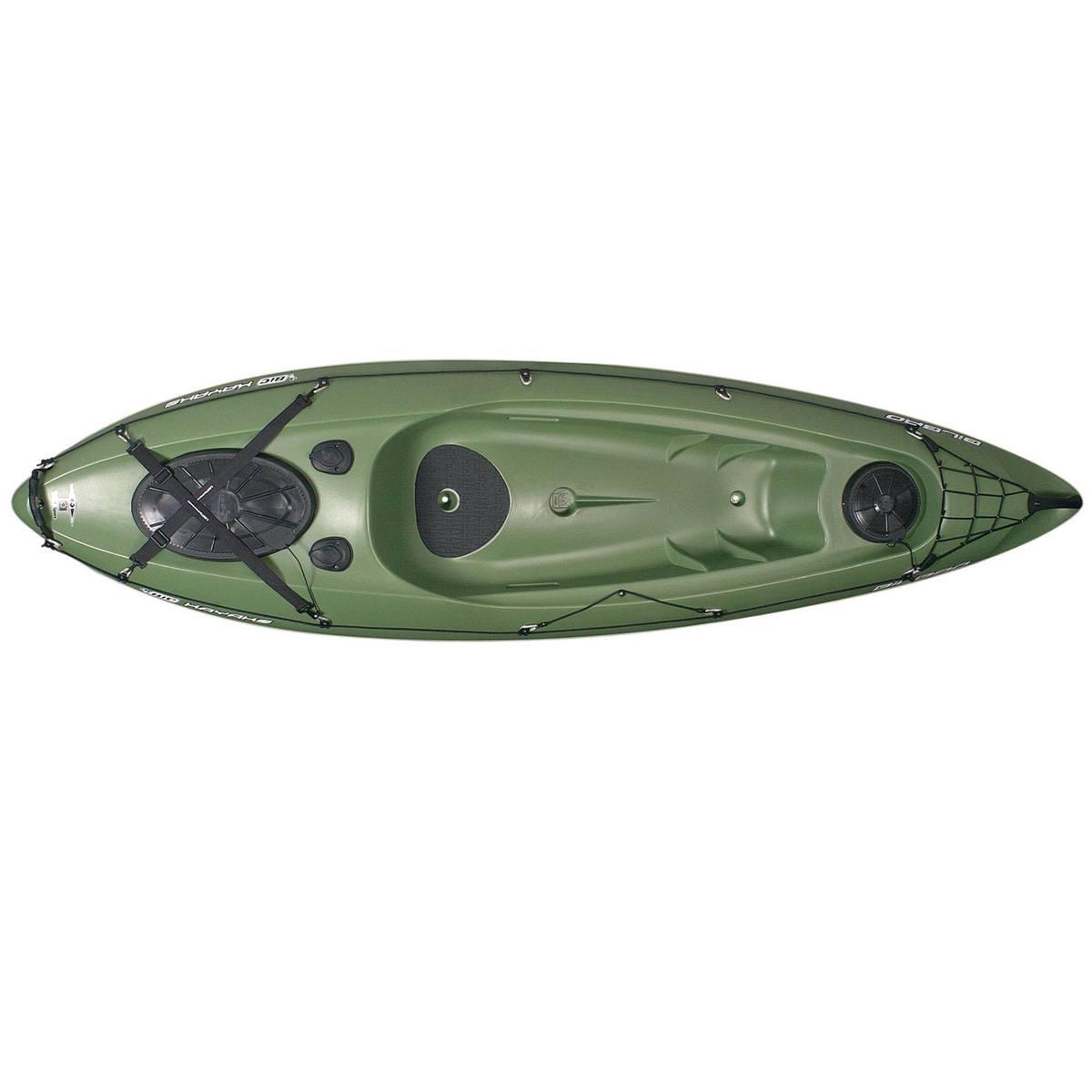 Bild 4 von Kajak Hartschale Angeln Bilbao Fishing 1-Sitzer grün