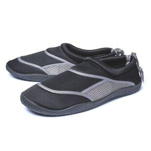 Aqua Schuhe für Erwachsene, schwarz/anthrazit Gr. 43/44