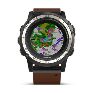 Garmin Smartwatch D2 Charlie Leather