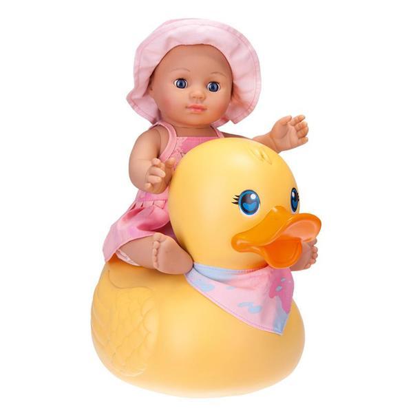 Badepuppe Girl mit Schwimmente