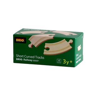 BRIO Kurze gebogene Gleise (E1)