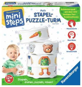 ministeps Mein Stapel-Puzzle-Turm