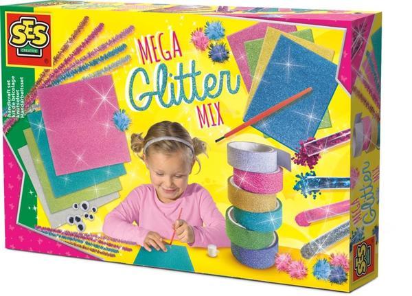 Mega- Glitter Bastelset