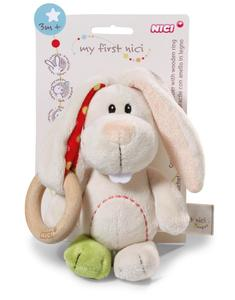 My First NICI Greifling Hase Tilli mit Holzring