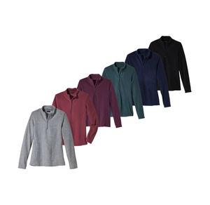 Laura Torelli Classic Damen-Sweatshirt in herbstlichen Farben