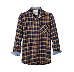 Reward classic Herren-Flanellhemd mit Kontrast-Karomuster