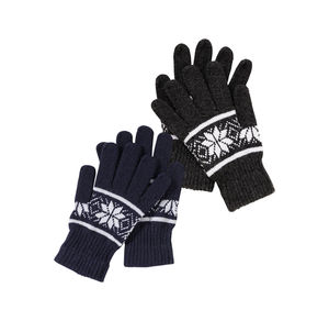 Herren-Handschuhe mit schickem Muster