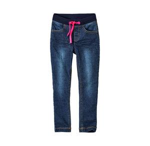 Kids Mädchen-Jeans mit Zugbändern