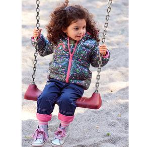 Liegelind Baby-Mädchen-Thermohose mit gestickter Krone
