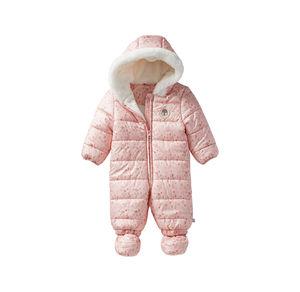 Liegelind Baby-Mädchen-Overall mit Kapuze