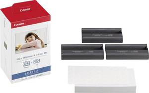 Fotodrucker Kassette (Tinte/Papier) Canon Selphy Photo Pack KP-108IN 1 Set