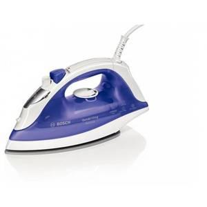Dampfbügeleisen Bosch Haushalt TDA2377 QuickFilling Secure Weiß, Violett (transparent) 2200 W