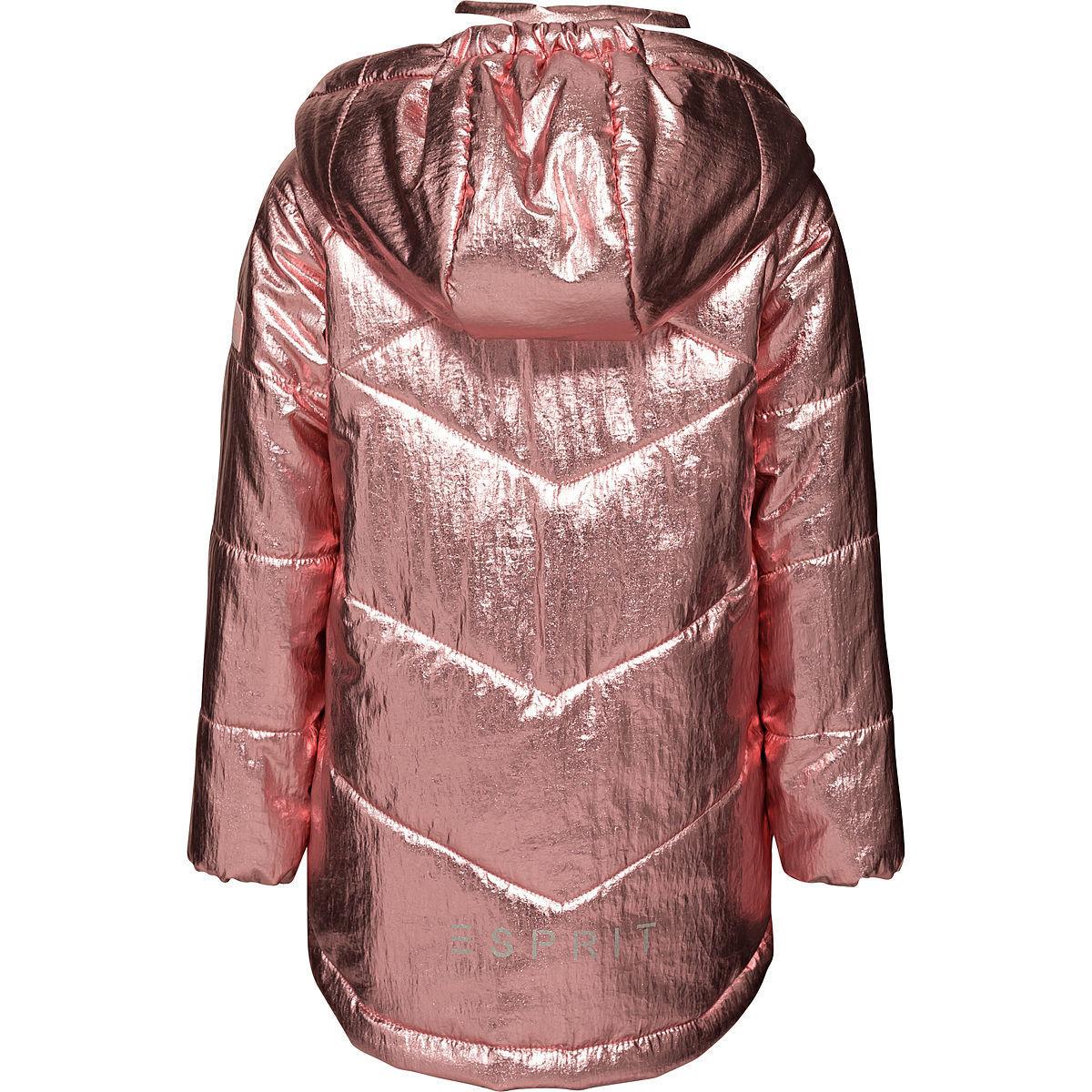Bild 2 von Esprit Mädchen Jacke mit Kapuze, metallic