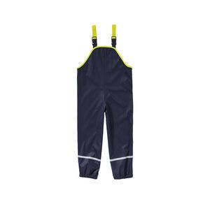Kids Jungen-Regenlatzhose mit reflektierenden Streifen