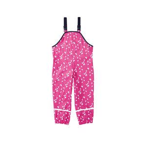 Kids Mädchen-Regenlatzhose mit Schmetterlings-Muster