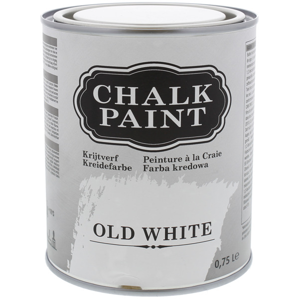 Kreidefarbe Old White