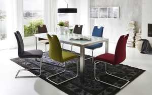 Niehoff - Stuhlgruppe Messina weiß/bunt
