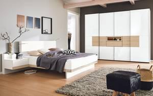 Musterring - Schlafzimmer Iskia in polarweiß/Jackson-Eiche Optik