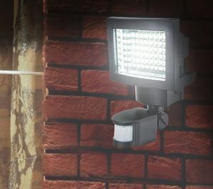 LED-Solar-Außenwandleuchte