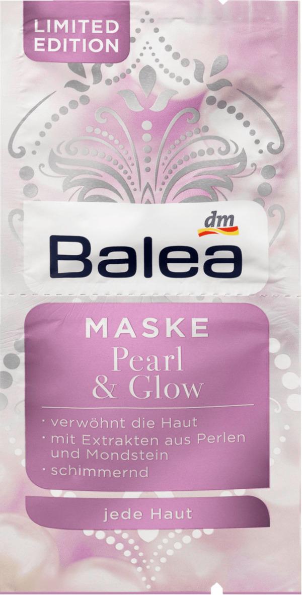 Balea Maske Pearl & Glow