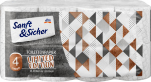 Sanft&Sicher Toilettenpapier Loft 16x150Bl