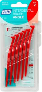TePe Interdentalbürste Angle rot 0,5mm ISO 2