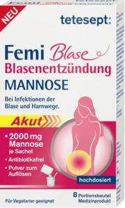 tetesept Femi Blase Blasenentzündung Mannose Sticks