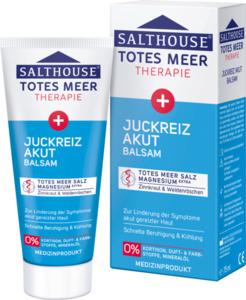 Salthouse Pflegecreme Totes Meer Therapie Juckreiz Akut Balsam