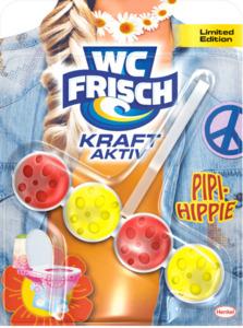 WC-Frisch WC-Reiniger Kraft Aktiv Pipi-Hippie Limited Edition