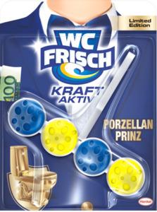 WC-Frisch WC-Reiniger Kraft Aktiv Porzellan Prinz Limited Edition