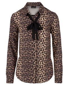 Bluse - Leopardenmuster