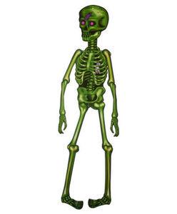 Jumbo-Skelett - Halloween, beweglich