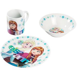 Die Eiskönigin Geschirr-Set, 3-teilig