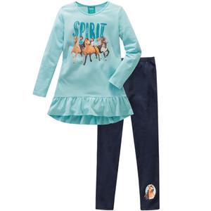 Spirit Schlafanzug mit Volant