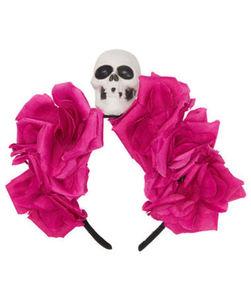 Haarreif - Halloween, Totenkopf