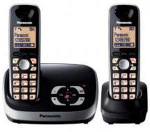 PANASONIC Schnurloses Duo-Telefon »KX-TG6522« mit AB