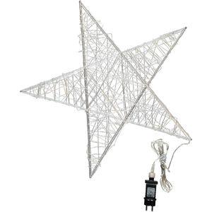 3D Drahtstern mit 120 LED's