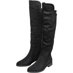 Damen Overknees-Stiefel mit Reißverschluss