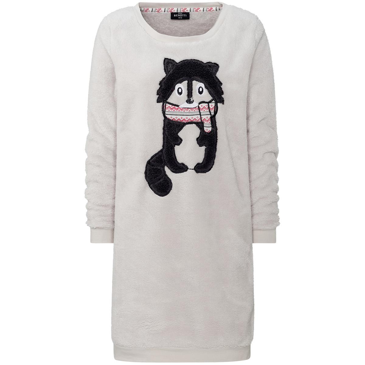 Bild 1 von Damen Loungewear-Kleid mit Applikation